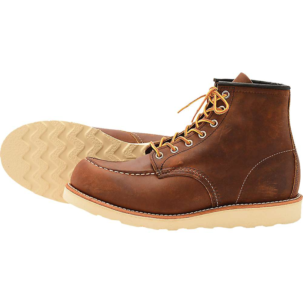 293bf5f7 Red Wing Heritage Men's 8880 6-Inch Classic Moc Toe Boot - Moosejaw