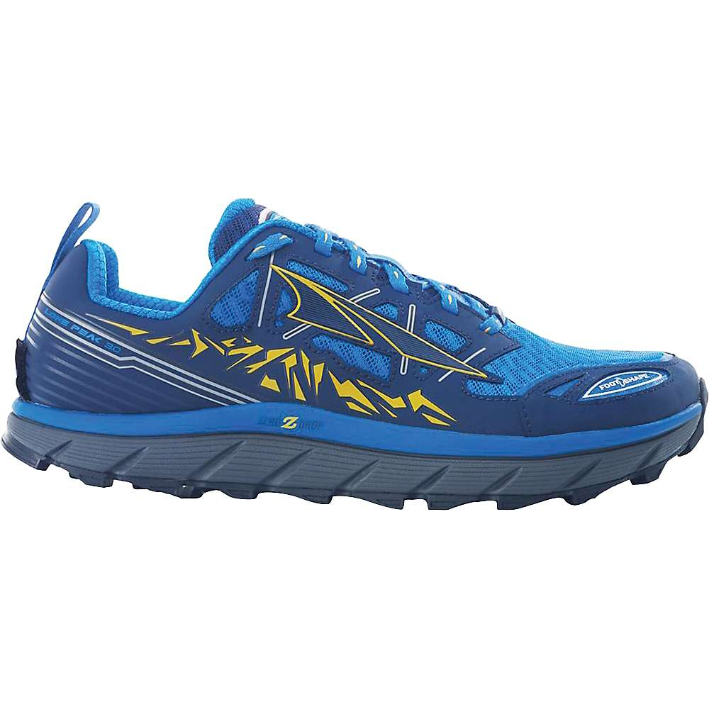 lone men Take it to the top in your men's altra lone peak 40 trail shoes.