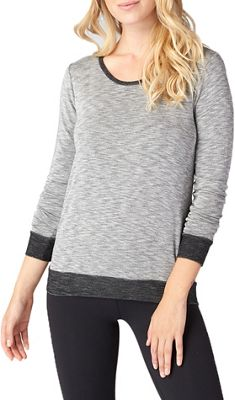 Beyond Yoga Women's Double Face Cowl Back Pullover Top