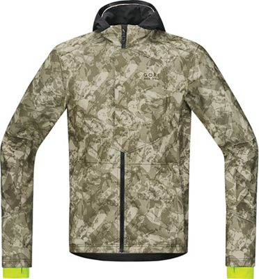 Gore Wear Men's Element Urban Print Windstopper Soft Shell Jacket
