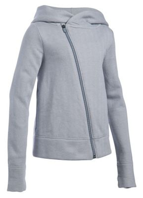 Under Armour Girls' Finale Studio Full Zip Fleece Top