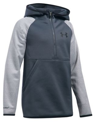 Under Armour Girls' Storm Armour Fleece Printed 1/2 Zip Hoody