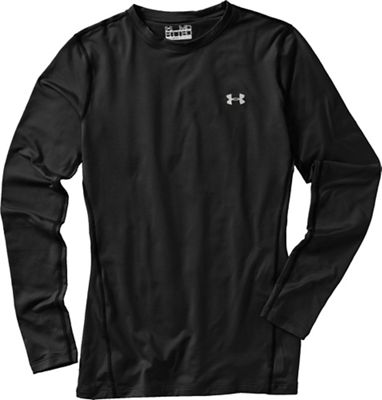 Under Armour Women's UA Coldgear Authentics Crew Neck Top