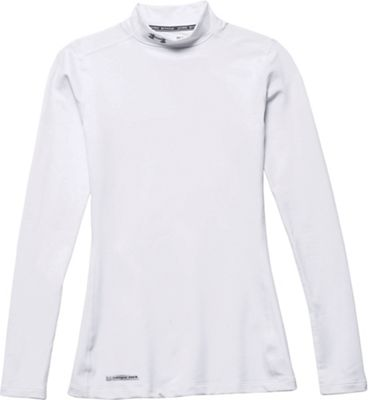 Under Armour Women's UA Coldgear Authentics Mock Neck Top