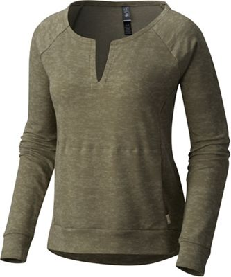 Mountain Hardwear Women's Burned Out LS Shirt