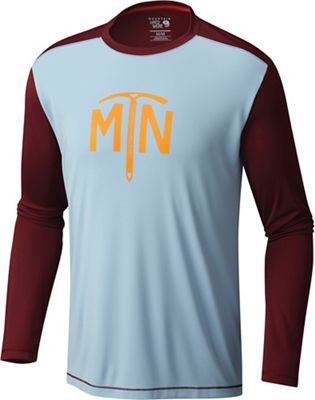 Mountain Hardwear Men's Wicked Logo LS Top
