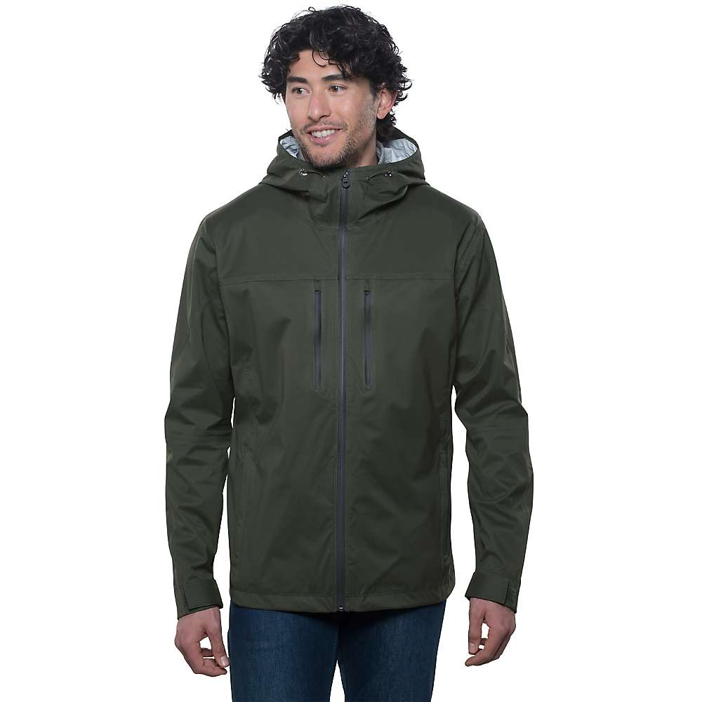 Lightweight, packable protection from seriously wet weather—shop men's waterproof rain jackets and shells with GORE-TEX® or H2No® fabric at truexfilepv.cf