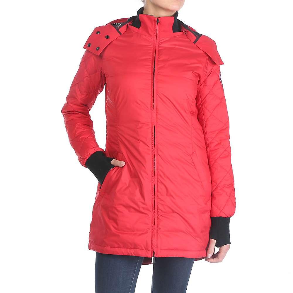 Canada Goose Women's Stellarton Coat. Red. Red. Red. 0:00