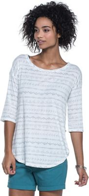 Toad & Co Women's Papyrus Flowy 3/4 Tee