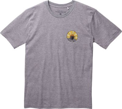 Toad & Co Men's Wake Up To This SS Tee