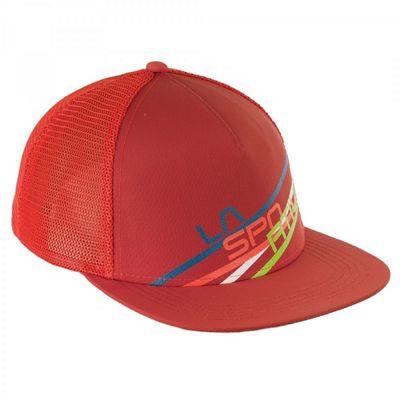 b662389a786 La Sportiva Trucker Hat Stripe 2.0 Cap. ORANGE  GREY  YELLOW