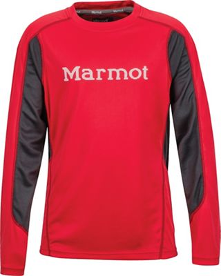Marmot Boy's Windridge with Graphic LS Jersey