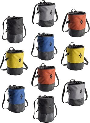 Black Diamond Mojo Zip 10 Pack Chalk Bag