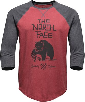 The North Face Men's Grizzly Baseball 3/4 Tee
