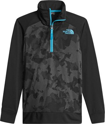 The North Face Boys' Kickin It 1/4 Zip Top