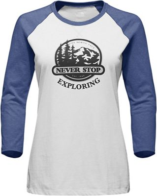 The North Face Women's Sierra 3/4 Sleeve Baseball Tee