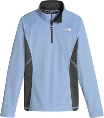 The North Face Girls' Tech Glacier 1/4 Zip Top