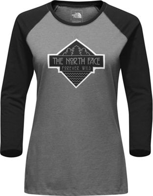 The North Face Women's Tenaya 3/4 Sleeve Baseball Tee