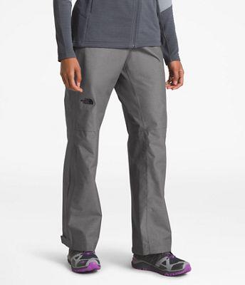 The North Face Women's Venture 2 Half Zip Pant. GREY; BLACK