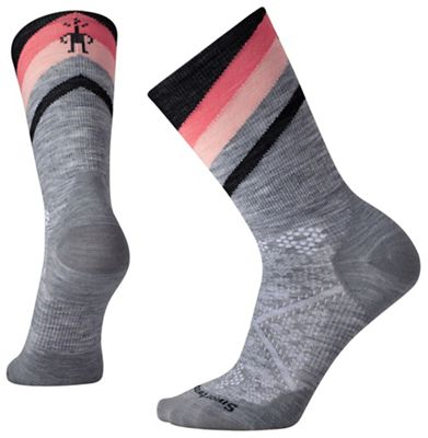Smartwool Women's PhD Cycle Ultra Light Pattern Crew Sock