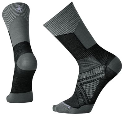 Smartwool PhD Cycle Ultra Light Pattern Crew Sock