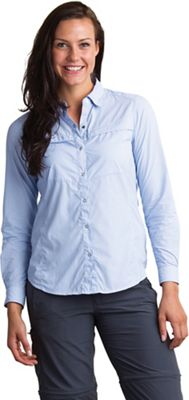 ExOfficio Women's BugsAway Halo Stripe LS Shirt