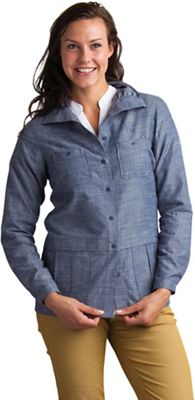 ExOfficio Women's Sol Cool Chambray LS Shirt