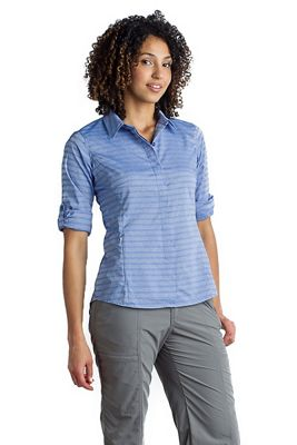 ExOfficio Women's Ventana Stripe LS Shirt