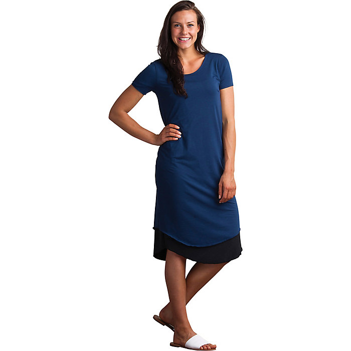 ExOfficio Womens Wanderlux Reversible Tee Dress