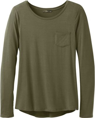 Prana Women's Foundation LS Crew Neck Top