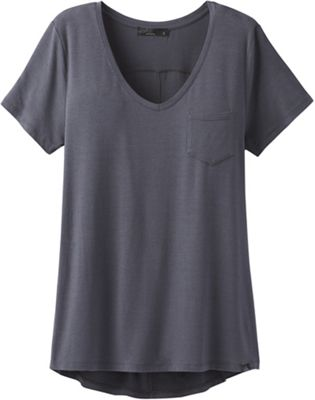 Prana Women's Foundation SS V Neck Top