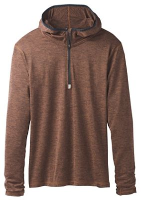 Prana Men's Hardesty Hooded 1/4 Zip Top