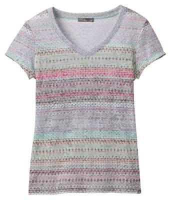 Prana Women's Portfolio V Neck SS Top