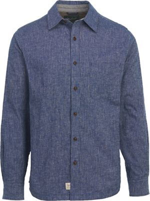Woolrich Men's Mainroad Eco Rich Long Sleeve Modern Shirt