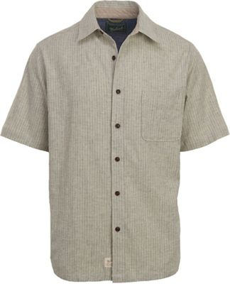 Woolrich Men's Mainroad Eco Rich Short Sleeve Modern Shirt