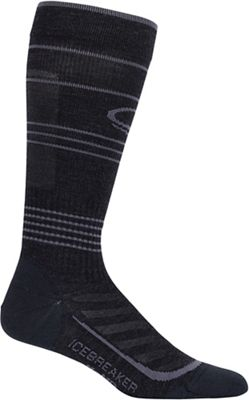 Icebreaker Men's Run+ Compression Over The Calf Ultra Light Sock