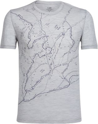 Icebreaker Men's Tech Lite SS Crewe - Graphic Collection