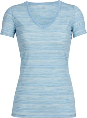Icebreaker Women's Tech Lite SS V Neck Top