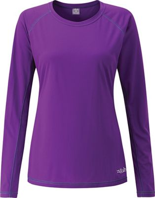 Rab Women's Interval Crew LS Tee