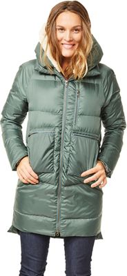 Carve Designs Women's Davos Long Down Jacket