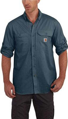 Carhartt Men's Force Ridgefield Solid LS Shirt