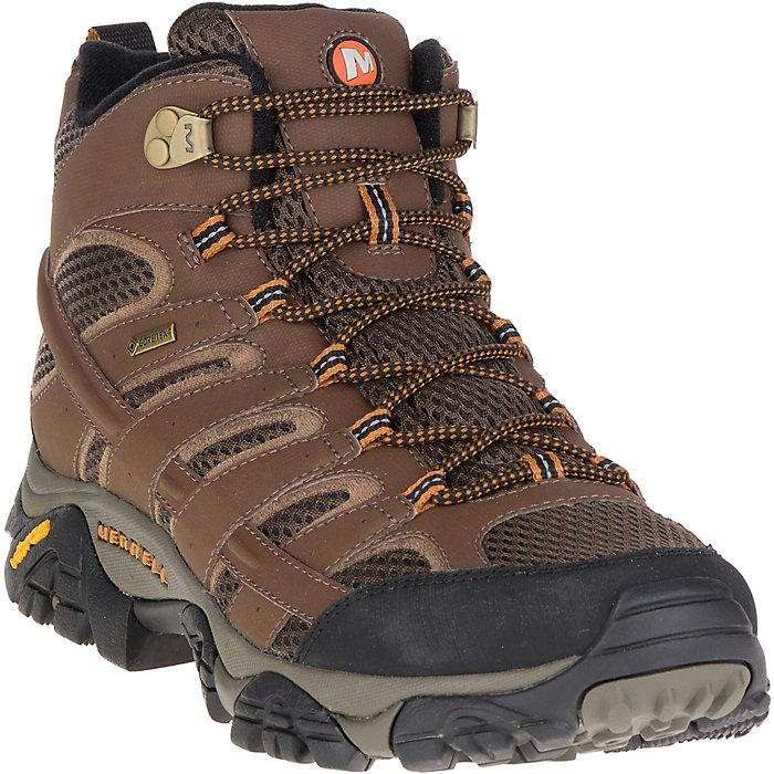 be2bc114e0ef0 Merrell Men's MOAB 2 Mid Gore-Tex Boot - Moosejaw