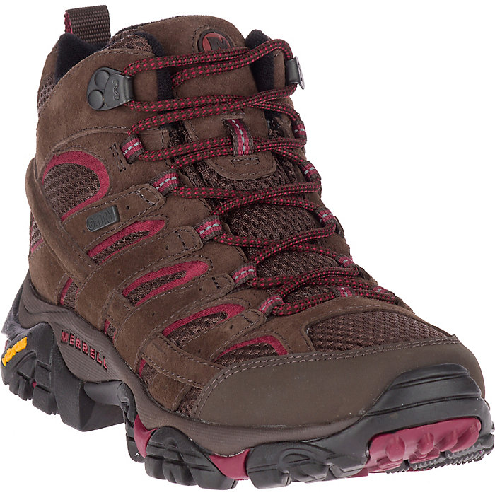 9b7a64add4 Merrell Women's MOAB 2 Mid Waterproof Boot