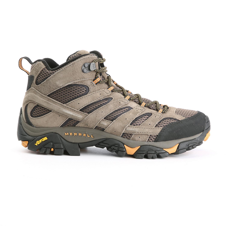 Merrell Moab 3 Mid GTX Mens Walking Boots Grey