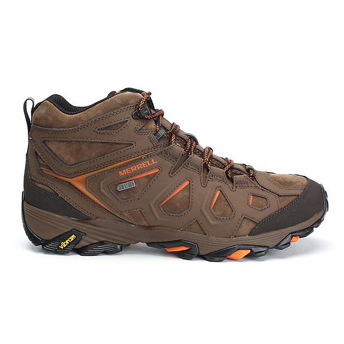 fdf6c1279e4 Merrell Men's MOAB FST Leather Mid Waterproof Boot - Moosejaw