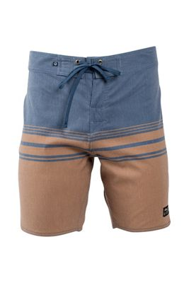 United By Blue Men's Backwater Scallop Boardshort