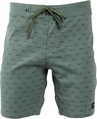 United By Blue Men's Longbow Scallop Boardshort