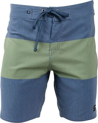 United By Blue Men's Midstream Scallop Boardshort