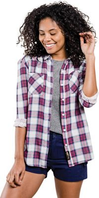 United By Blue Women's Stargrass Relaxed Plaid Shirt