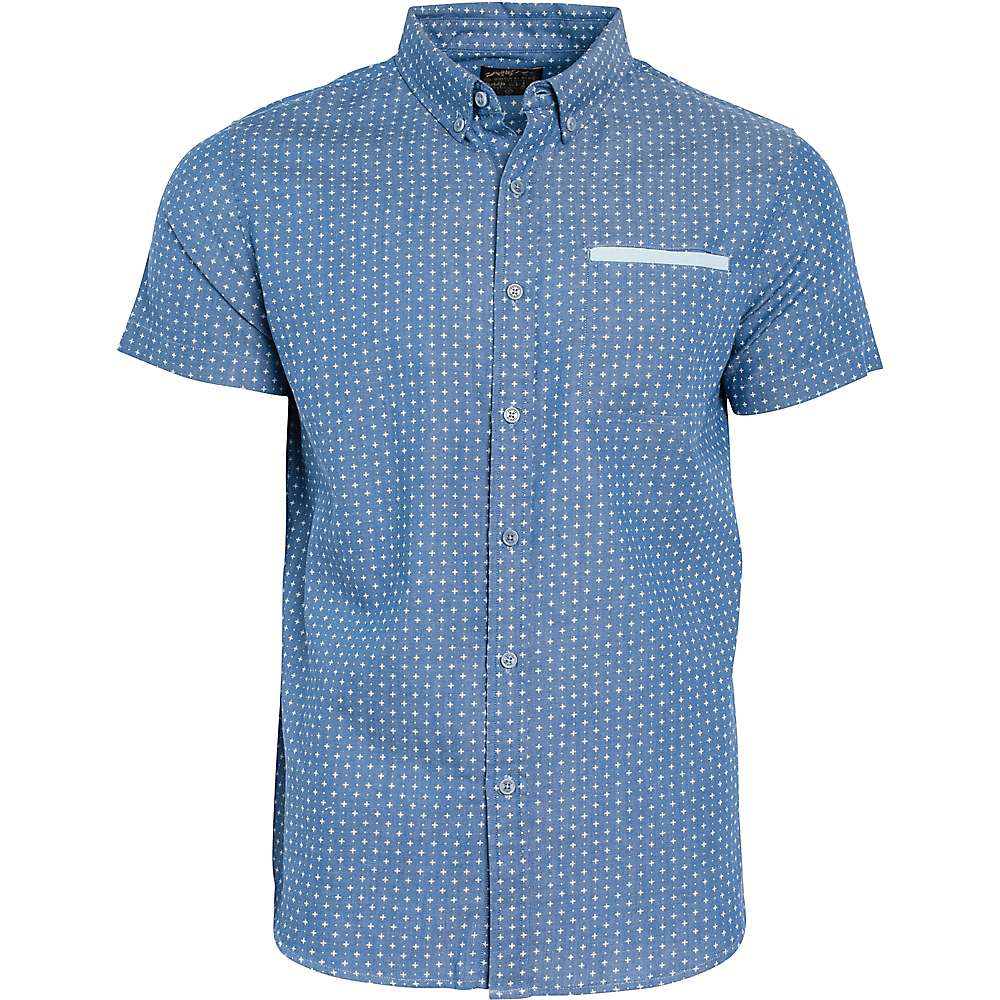 United by blue men 39 s wenlock chambray ss shirt moosejaw for Chambray 7 s